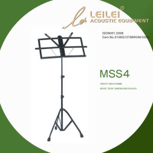 Tripod Base Music Sheet Stand (MSS4) pictures & photos