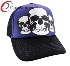 Skeleton Printed Fashion Breathable Leisure Sport Trucker Mesh Cap pictures & photos