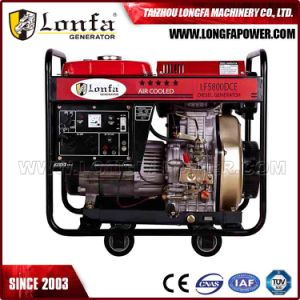 6.5kVA Portable Square Frame Open Cart Type Diesel Generator pictures & photos