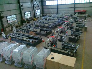 High Speed Automatic Corrugated Carton Box Folder Pasting and Packing Machine pictures & photos