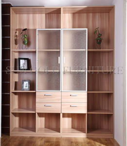 Wood Filing Cabinet with Small Drawer Book Shelf Cabinet (SZ-FCT609) pictures & photos
