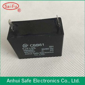 Cbb61 Fan Capacitor 450VAC Lowes Motor Start Capacitor pictures & photos