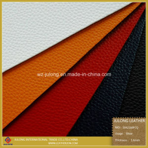 Thick Imitate Micro Fiber Leather for Shoes (S042) pictures & photos