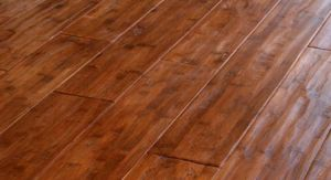Strand Woven Bamboo Flooring Handscraped pictures & photos