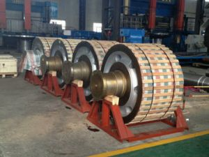 Wear Resistant and Lower Noise Support Roller of Rotary Kiln pictures & photos