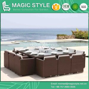 Outdoor Dining Set Rattan Wicker Dining Set (Magic Style) pictures & photos