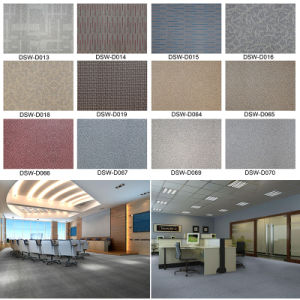 Carpet Effect Anti Slip Vinyl Planks Floor pictures & photos