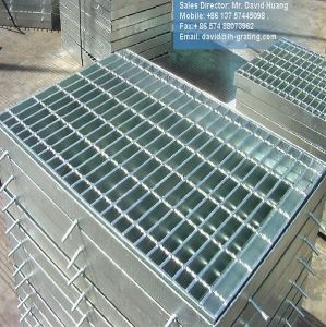 Hot DIP Galvanized Trench Cover From Steel Grating pictures & photos
