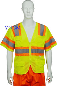 Reflrctive Safety Working Vest with High Quality pictures & photos