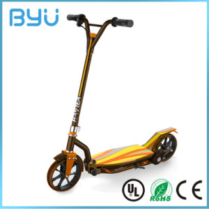 2 Wheel Electric Folding Hand Brake Kids Kick Scooter pictures & photos