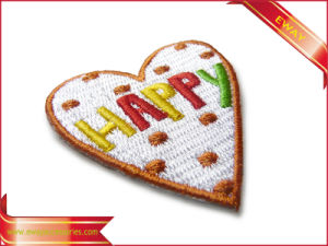 Lovely Design Embroidery Patch Garment Promotion Embroidery Patch pictures & photos