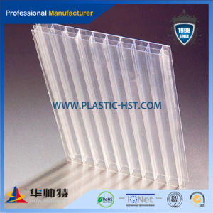 100% Lexan Roofing Polycarbonate Hollow Sheet pictures & photos