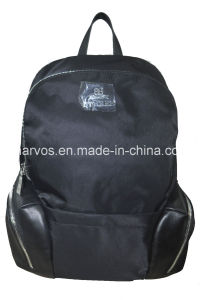 Wholesale Fashion Ladies′ Nylon with Leather /PU Backpack (BS13604) pictures & photos
