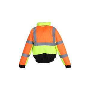 Men′s Hi Vis Reflective Safety Waterproof Jacket pictures & photos