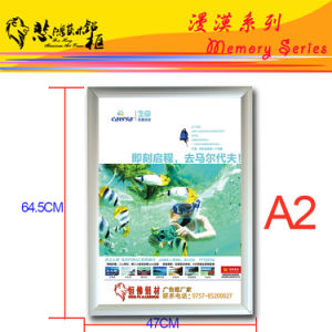 Snap Aluminum Picture Frame Clip Aluminum Photo Frame pictures & photos