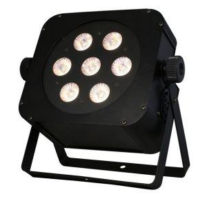 7X15W Rgbaw 5in1 Wireless Flat American DJ Light