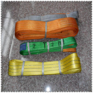 Double Ply Polyester Webbing Sling Safety Factor, Heavy Duty Lifting Sling pictures & photos