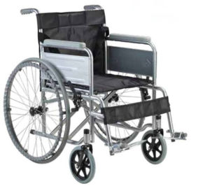 Manual Powder Coating Thicker Steel Frame Wheel Chairs pictures & photos