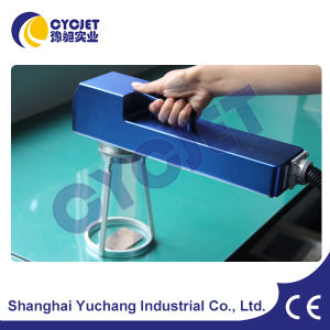 Cyc Portable Laser Marking Machine for Heavy Goods pictures & photos