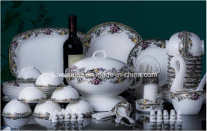 Jingdezhen Porcelain Tableware Kettle Set (QW-007) pictures & photos