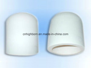 High Temperature White Fused Silica Ceramic Pot pictures & photos