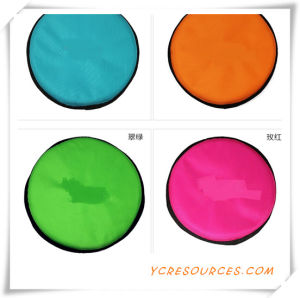 2015 Promotional Gift for Pet Frisbee High Quality Pet Cloth Frisbee Cheap Promotional Colorful Foldable Pet Frisbee (OS02049) pictures & photos