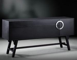 Black Vintage Dining Cabinet (FH-5137)