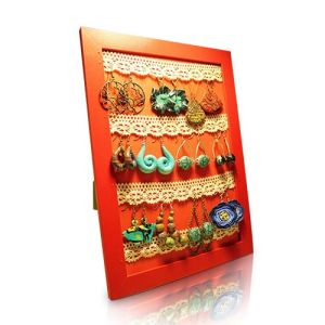Ornament Cardboard Display with Hooks, Peg Cardboard Display Rack pictures & photos