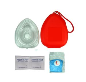 Disposable Emergency Resus-Aid CPR Mask with CE Approval
