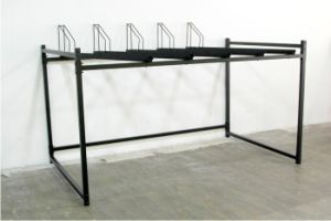 Carbon Steel Double Deck Large Capacity Bike Display Rack pictures & photos