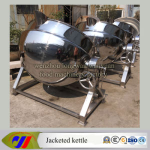 Tilting Jacketed Cooking Vat Without Agitator pictures & photos