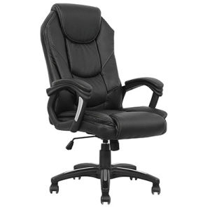 Rotary Leather Cover Office Executive Director Swivel Desk Chair (FS-2017) pictures & photos