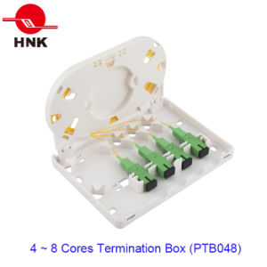 4 Ports Fiber Optic Cable Termination Box (PTB048) pictures & photos