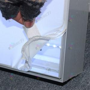 DM Aluminum Rectangular Shape Portable LED Lightbox Banner Display Stand