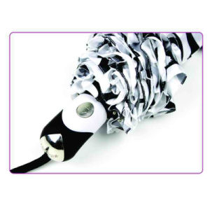 Water Ripple Print Foldable Duomatic Satin Umbrellas (YS-3FD22083903R) pictures & photos