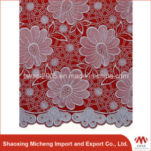 Africa High Quality Big Swiss Voile Lace pictures & photos
