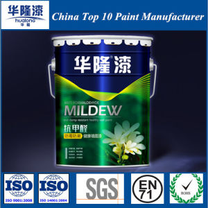 Hualong Anti Formaldehyde Mildewproof & Moistureproof Healthy Wall Finish Paint pictures & photos