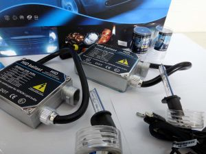 AC 55W H1 HID Light Kits with 2 Regular Ballast and 2 Xenon Lamp
