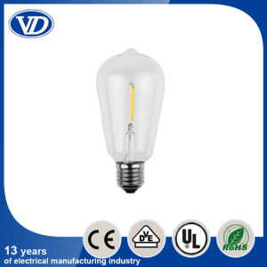 St64 LED Crystal Bulb Light 6W pictures & photos