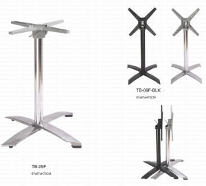 Wholesale Price Aluminum Folded Table Base (TB-09F) pictures & photos