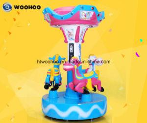 Recreation Machineoutdoor Playground Colorful Merry-Go-Round Whirligig