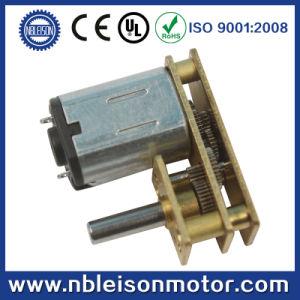 U Type Low Rpm Mini Electric Gearbox Motor for Door Lock pictures & photos