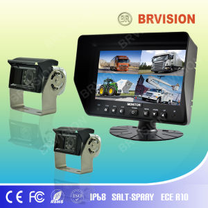7 Inch Rear View System with Waterproof IP69k Rearview Camera for Truck pictures & photos