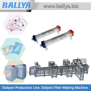 Turn-Key Automated Low High Flux Dialyzer Production Lines and Manufacturing Equipment for Hollow Fiber Membrane Dialysis Filter