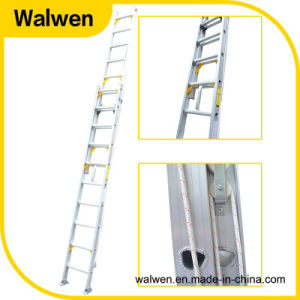 Multi-Purpose Telescopic Aluminum Firefighting Ladder pictures & photos
