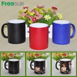 Factory Directly 11oz Sublimation Heat Press Magic Mug, 11oz Color Chaning Mug pictures & photos