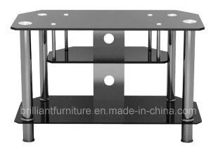 Glass Medern TV Stand for LCD/LED/Plasma (BR-TV203)