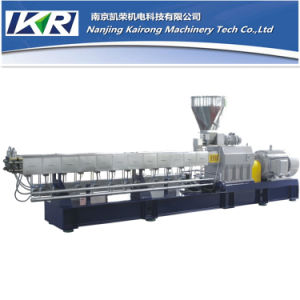 Plastic Parallel Co-Rotating Twin Screw Extruder pictures & photos