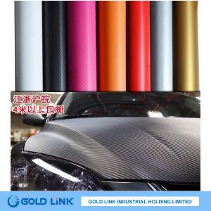 3D Car Carbon Fiber with Bubble Free Sticker Film (CK001) pictures & photos