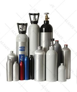 Seamless Aluminum Specialty Gas Cylinder Pressure pictures & photos